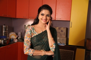 Actress Nithya Ram in Nandini TV Serial Photos