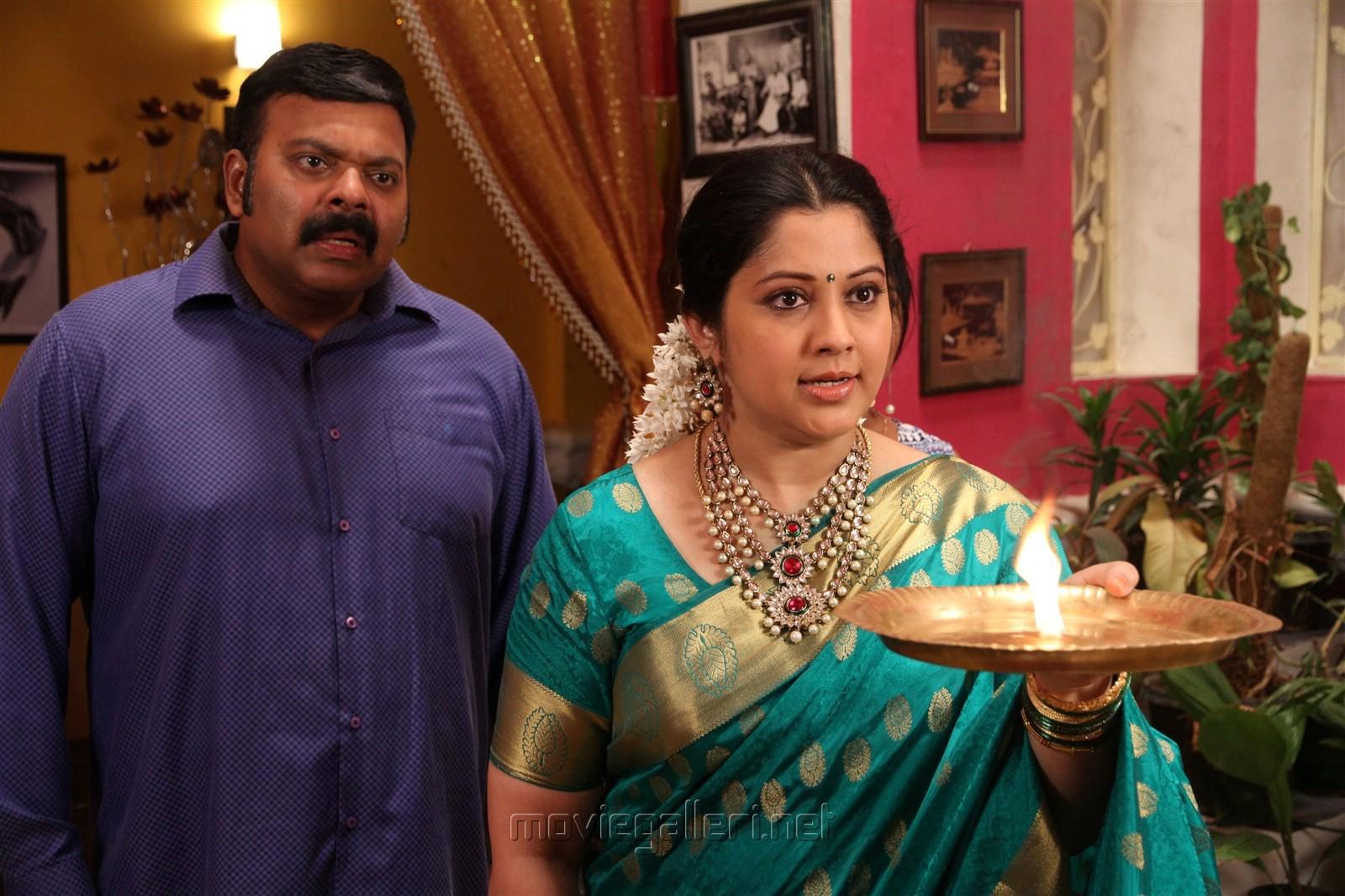 Actress Vijayalakshmi in Nandini TV Serial Photos