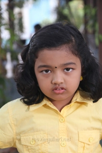 Baby Adhitri @ Nandini TV Serial Working Stills