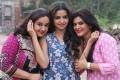Malavika Wales, Nithya Ram @ Nandini TV Serial Working Stills