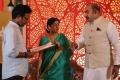 Sachu, Vijayakumar @ Nandini TV Serial Working Stills