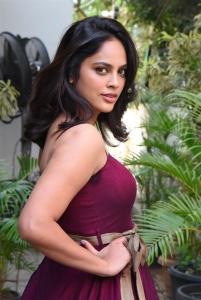 Tamil Actress Nandita Latest Photos @ Akshara Movie Song Launch