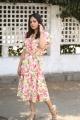 Tamil Actress Nandita Swetha in Floral Dress Photos