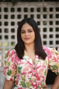 Actress Nandita Swetha Photos in  Floral Dress