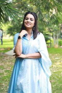 Actress Nandita Swetha Cute Photos @ Kabadadaari Audio Launch