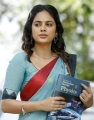 Actress Nandita Swetha Cotton Saree in Akshara Movie Photos HD