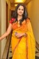 Beautiful Nanditha Raj in Yellow Saree Photos