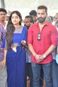 Poonam Kaur, Jithan Ramesh @ Nandu En Nanban Movie Launch Stills