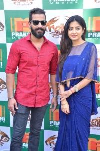 Jithan Ramesh, Poonam Kaur @ Nandu En Nanban Movie Launch Stills
