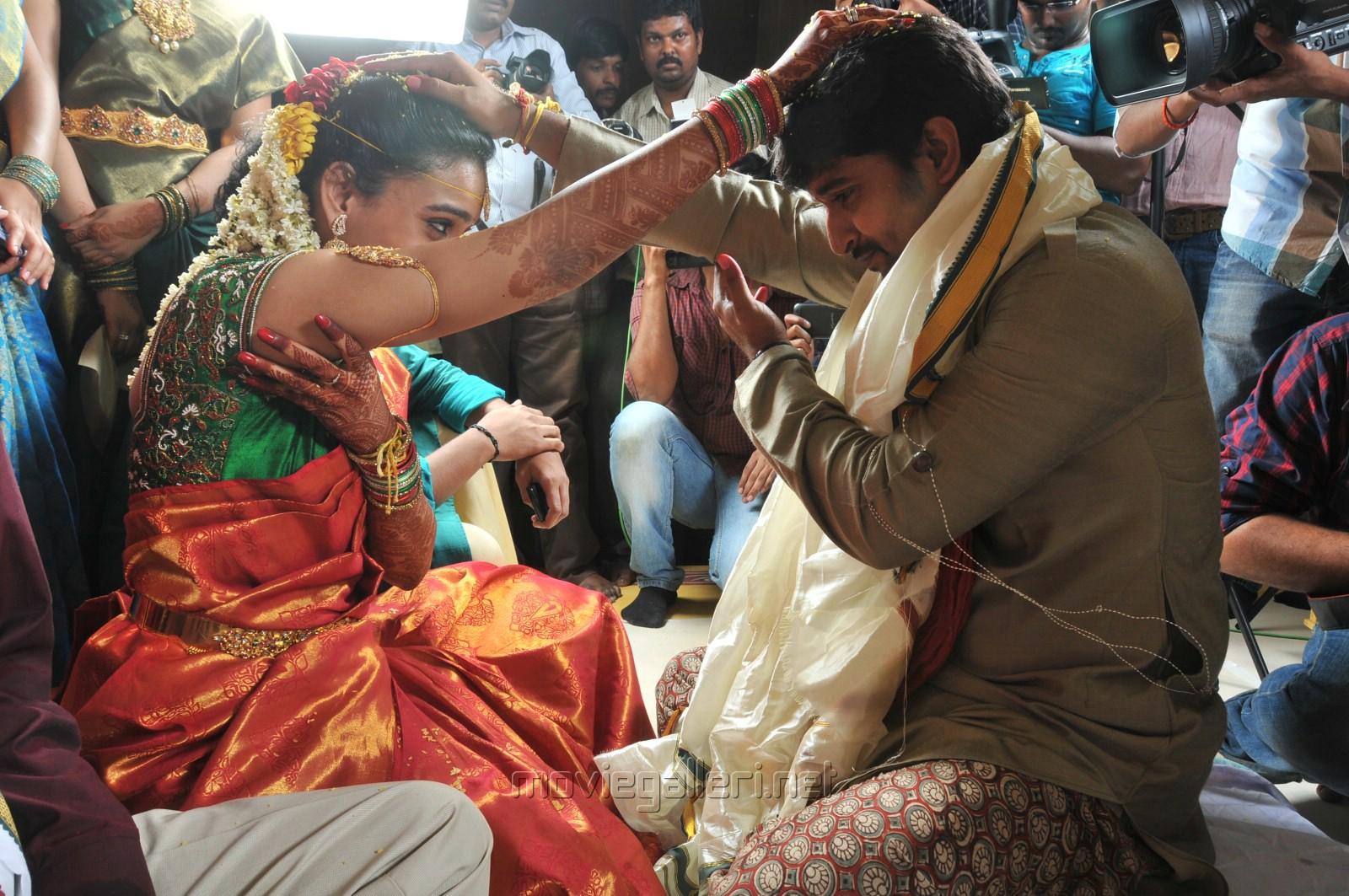 Telugu Actor Nani Anjana Marriage Pics