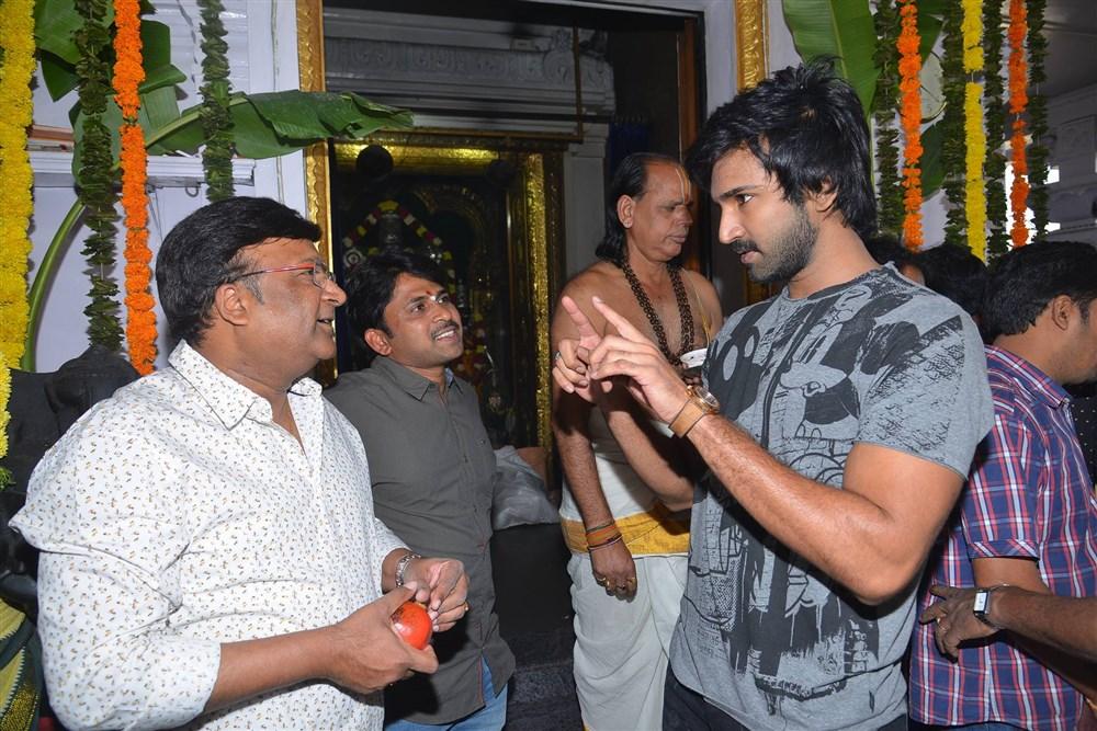 Nani Nivetha Aadhi New Movie Opening Stills