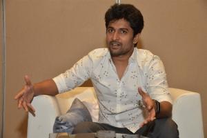 Hero Nani Photos @ Tuck Jagadish Movie Interview
