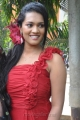 Tamil Actress Nanma Hot in Red Dress Stills