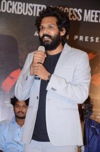 Actor Karthik Rathnam @ Narappa Movie Success Meet Stills