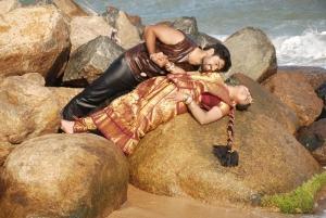 Pranav, Monica in Nathikal Nanaivathillai Movie Hot Stills