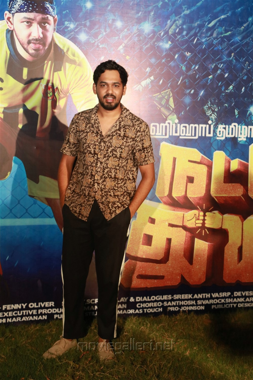 HipHop Tamizha Aadi @ Natpe Thunai Trailer Launch Photos