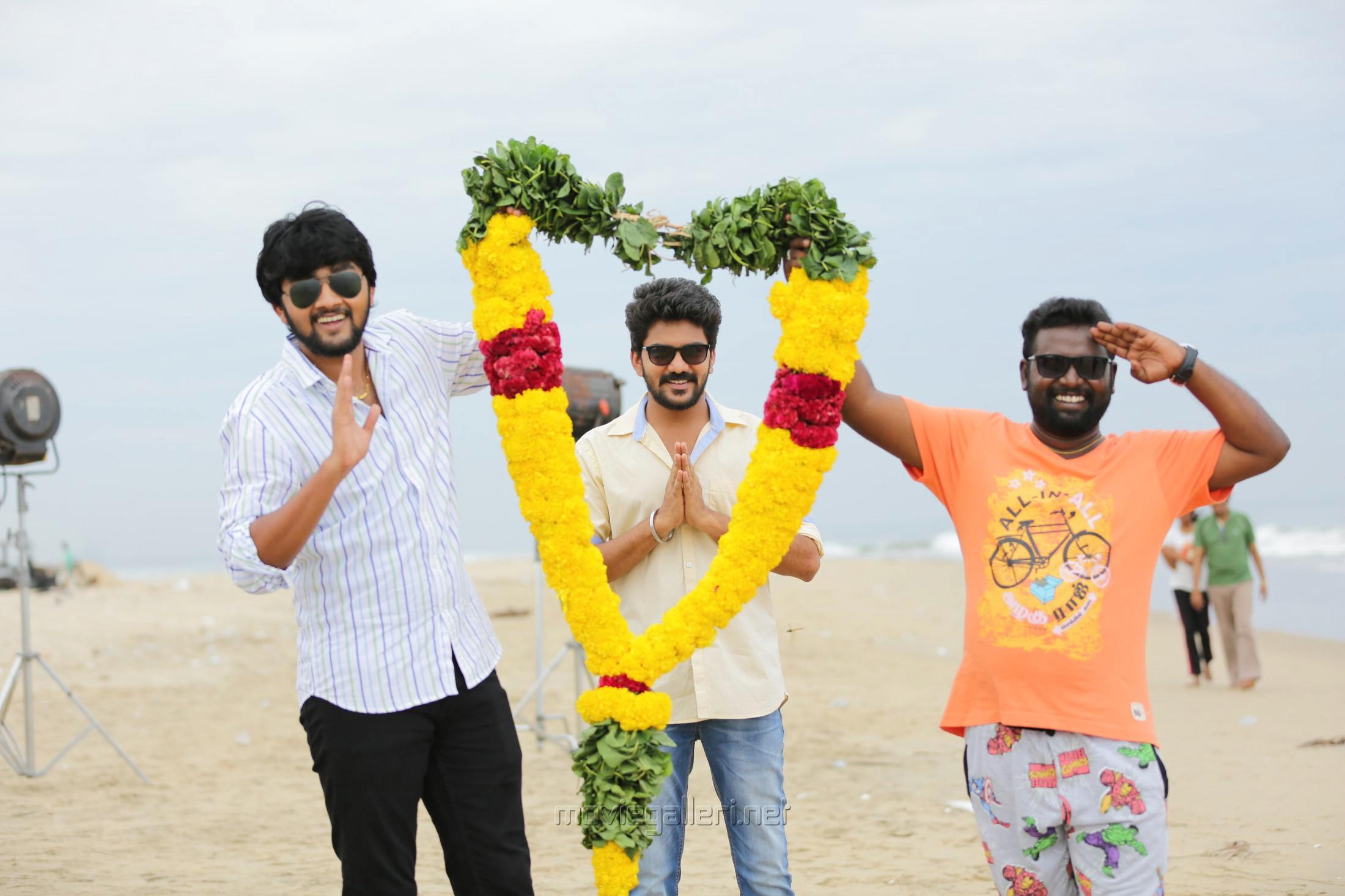 Raju, Kavin, Arunraja Kamaraj in Natpuna Ennanu Theriyuma Movie Stills HD