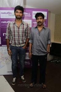 Atharva, Bala at Naturals Lounge 250th Salon Launch Stills