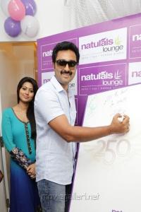Actor Prasanna at Naturals Lounge 250th Salon Launch Stills