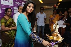 Actress Sneha at Naturals Lounge 250th Salon Launch Stills