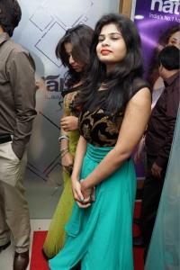 Alekhya Reddy @ Naturals Salon Launch at Mehdipatnam, Hyderabad