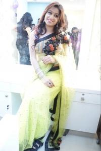Actress Manali Rathod @ Naturals Salon Launch at Mehdipatnam, Hyderabad