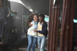 Amy Jackson, Dhanush in Nava Manmadhudu Movie Photos