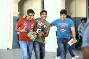 Sathish, Dhanush in Nava Manmadhudu Movie Photos