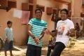 Dhanush, Sathish in Nava Manmadhudu Telugu Movie Stills