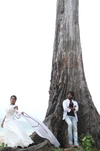Niveda Thomas, Jai in Naveena Saraswathi Sabatham Latest Photos