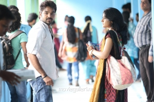 Jai, Niveda Thomas in Naveena Saraswathi Sabatham Latest Photos
