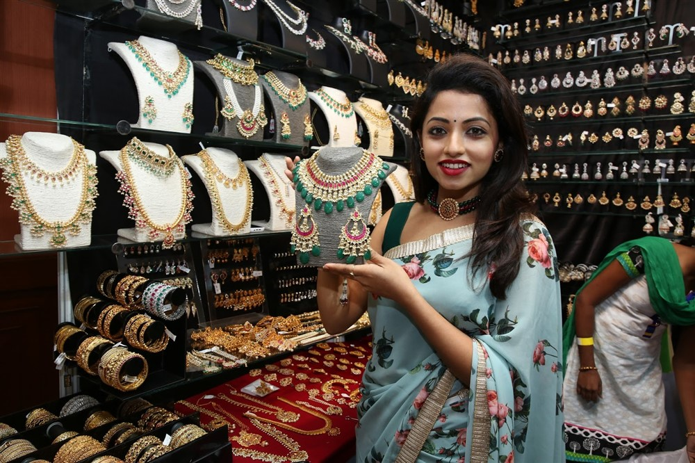 Actress Navya Swamy Inaugurated Trendz Expo at Taj Krishna Photos