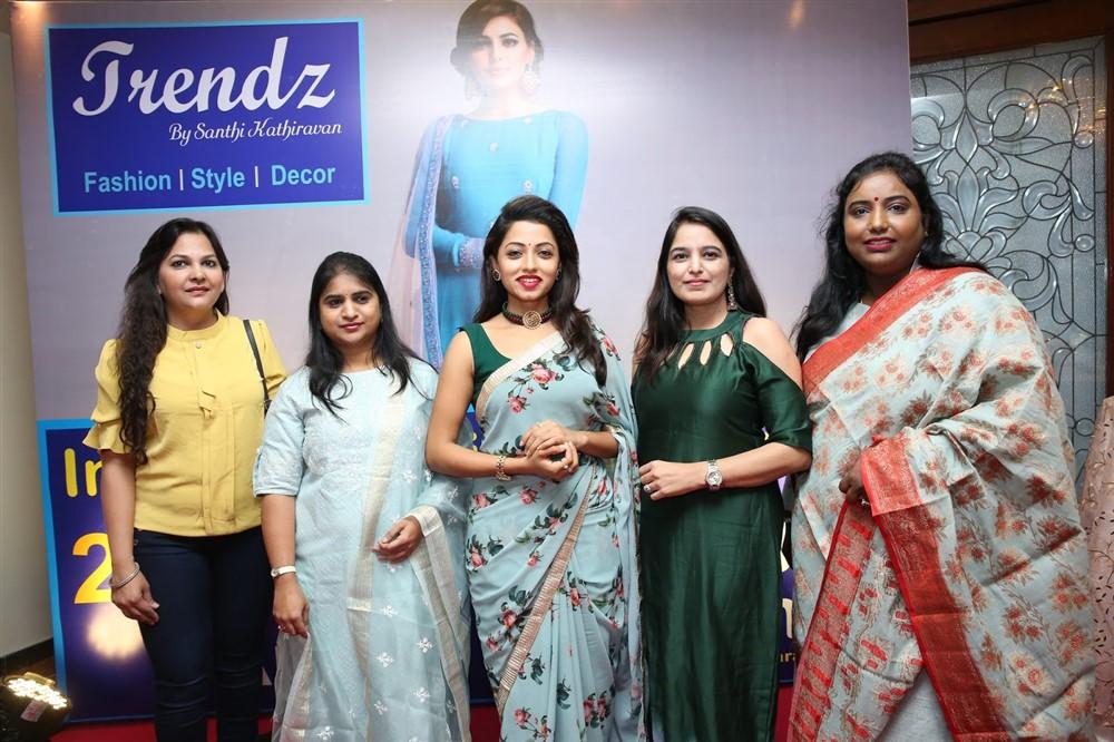 TV Actress Navya Swamy Inaugurated Trendz Expo at Taj Krishna Photos