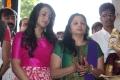 Trisha, Uma Krishnan @ Nayagi Movie Pooja Stills