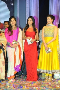 Upasana Kamineni, Amala Paul, Kajal Agarwal at Nayak Audio Release Stills