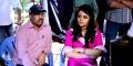 Giridhar Mamidipally, Trisha @ Nayaki Movie Working Stills