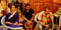 Trisha, Raghu Kunche, Kovi @ Nayaki Movie Working Stills