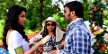 Trisha Krishnan, Kovi @ Nayaki Movie Working Stills