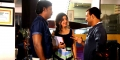Sathyam Rajesh, Poonam Kaur, Kovi @ Nayaki Movie Working Stills