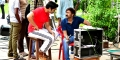 Ganesh Venkatraman, Kovi @ Nayaki Movie Working Stills
