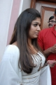 Actress Nayanthara Hot Photos in White Churidar Dress