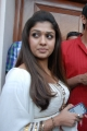 Actress Nayantara Hot Photos in White Churidar Dress