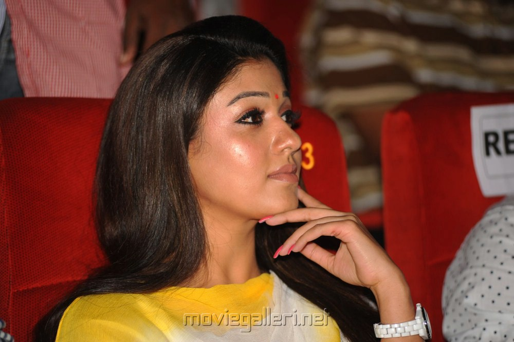Nayanthara Cute Photos at Krishnam Vande Jagadgurum Audio Launch
