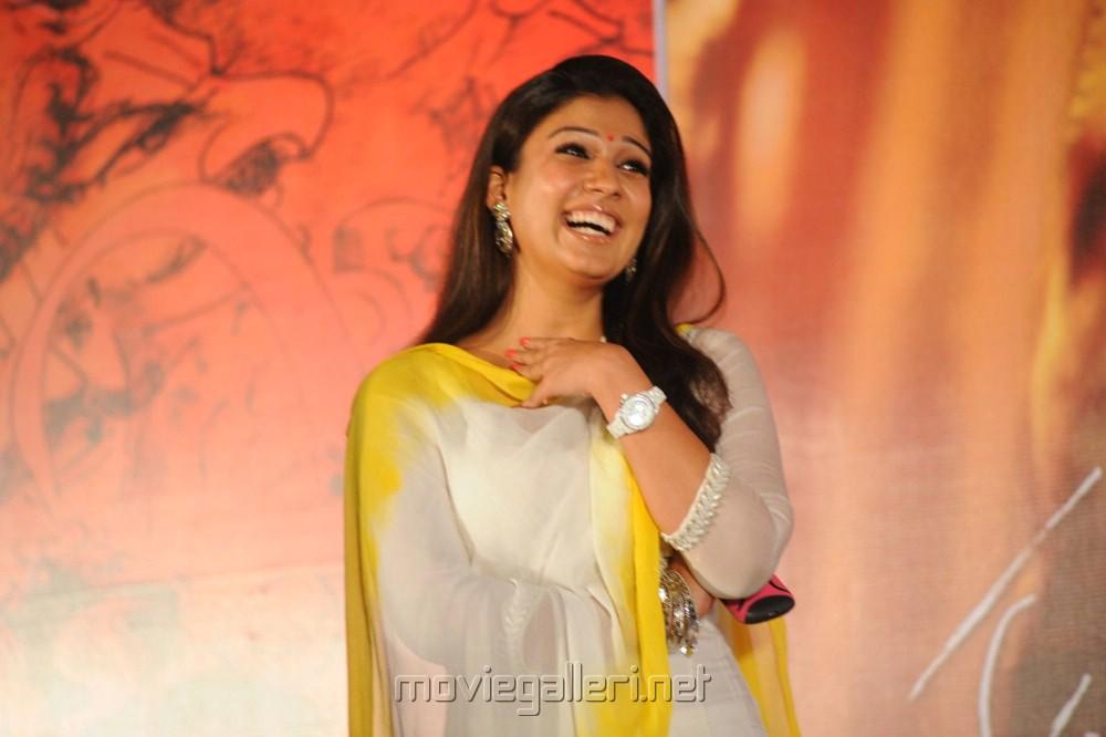 Beautiful Nayantara Photos at Krishnam Vande Jagadgurum Audio Launch