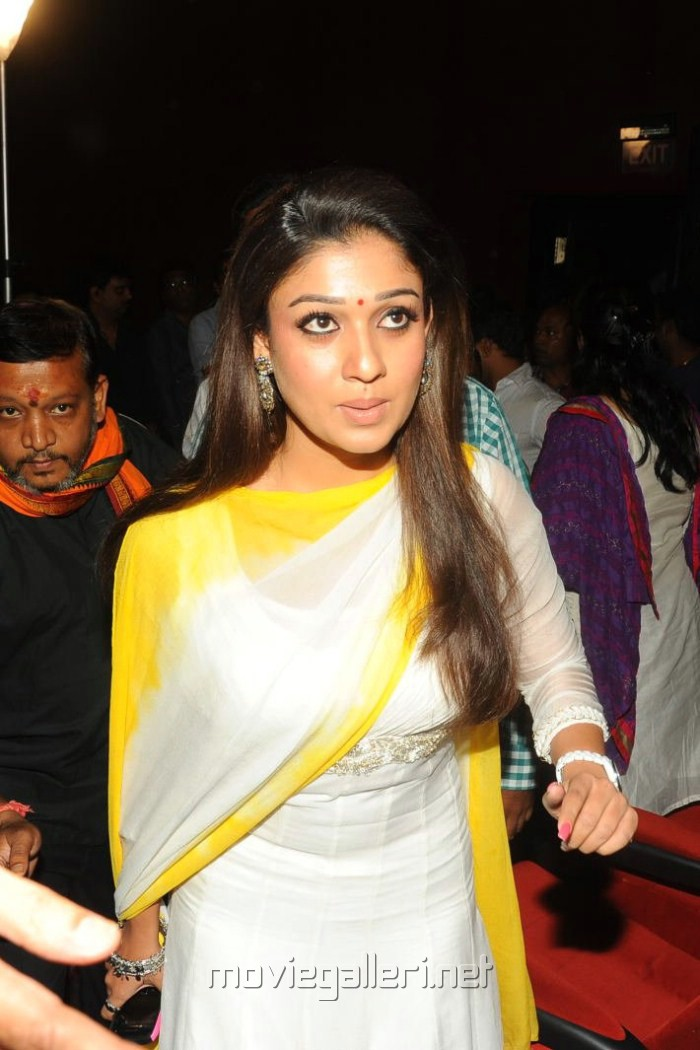 Picture 320035 | Nayanthara in Churidar Photos at Krishnam ...