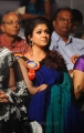 Beautiful Nayanthara Blue Saree Stills at Nandi Awards 2011 Function