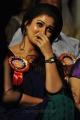 Cute Nayanthara Blue Saree Stills at Nandi Awards 2011 Function