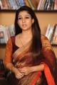 Actress Nayanthara Beautiful Saree Images in Greeku Veerudu Movie