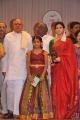Nayanthara in Saree at Sri Kala Sudha Telugu Association Awards 2012