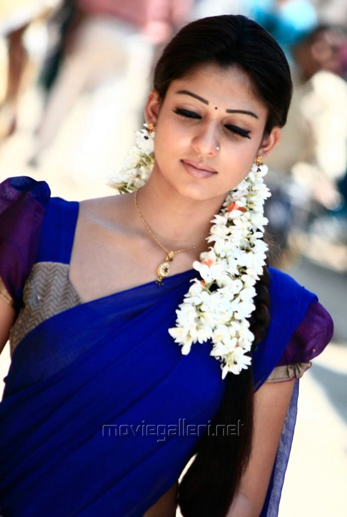 Picture 166918 Nayanthara Latest Saree Stills New Movie Posters